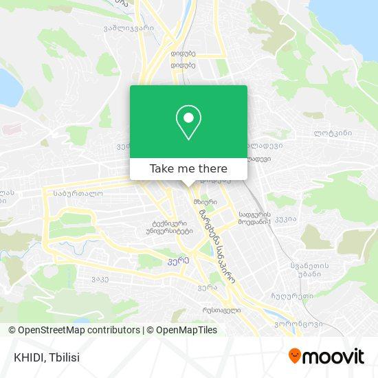 KHIDI map
