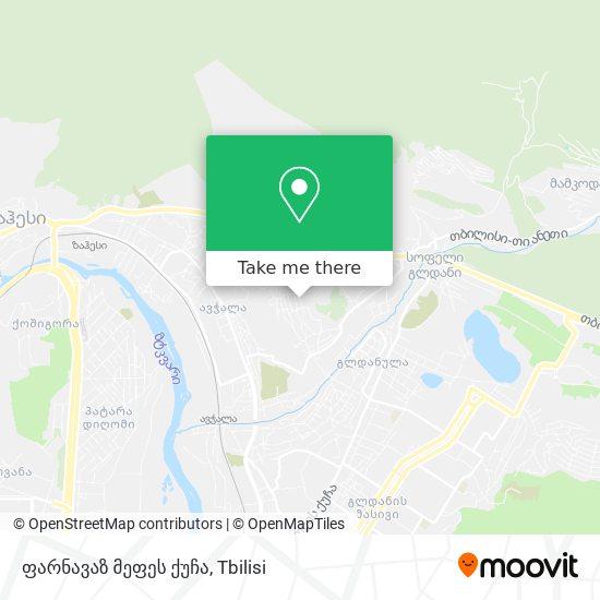 ფარნავაზ მეფეს ქუჩა map