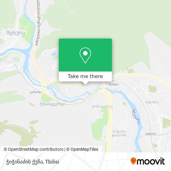 ჭიჭინაძის ქუჩა map