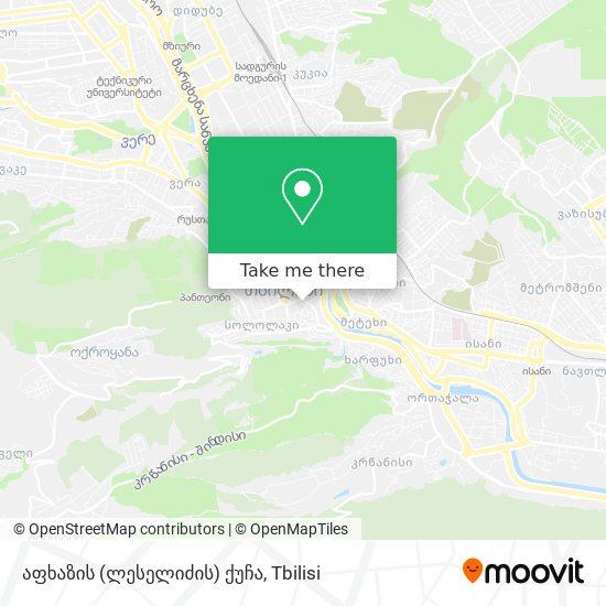 აფხაზის (ლესელიძის) ქუჩა map