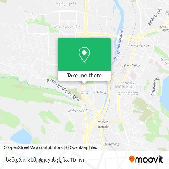 სანდრო ახმეტელის ქუჩა map