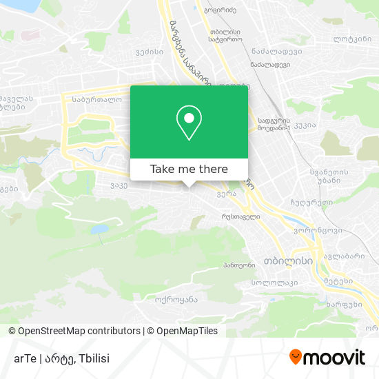 arTe   არტე map