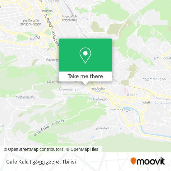 Cafe Kala   კაფე კალა map