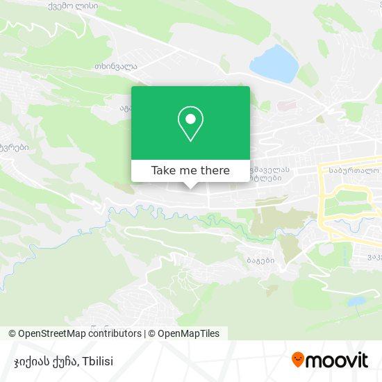 ჯიქიას ქუჩა map