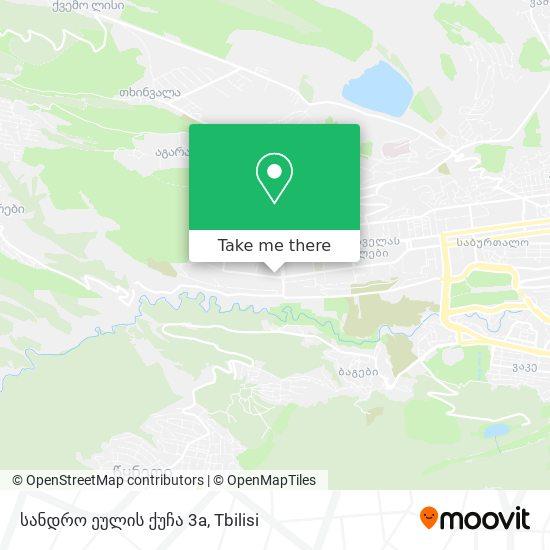 სანდრო ეულის ქუჩა 3a map