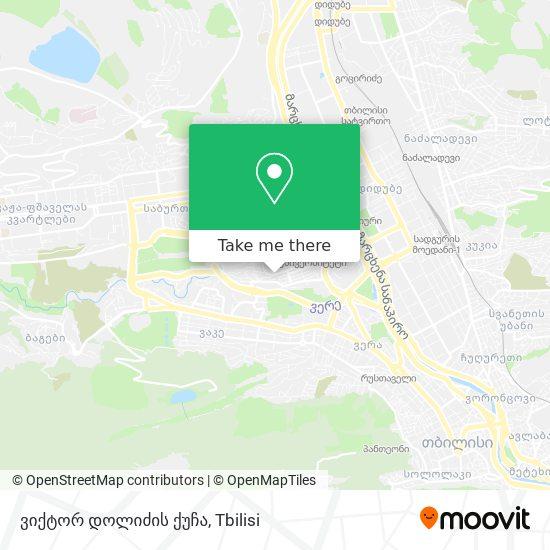 ვიქტორ დოლიძის ქუჩა map