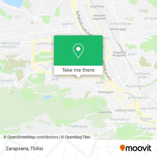 Zarapxana map