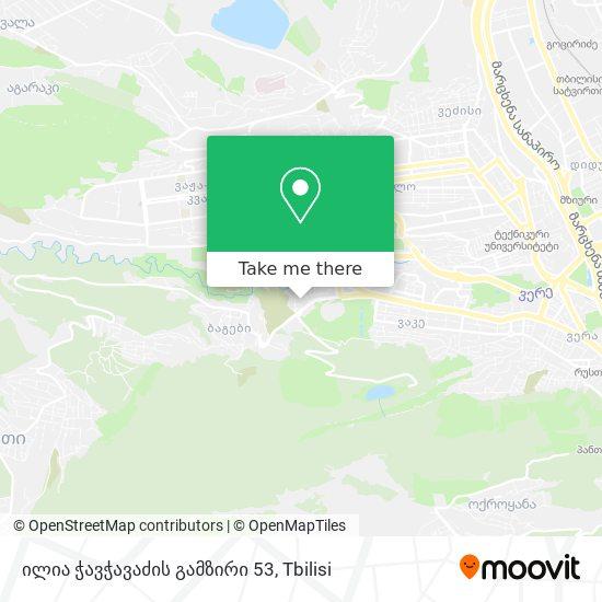 ილია ჭავჭავაძის გამზირი 53 map