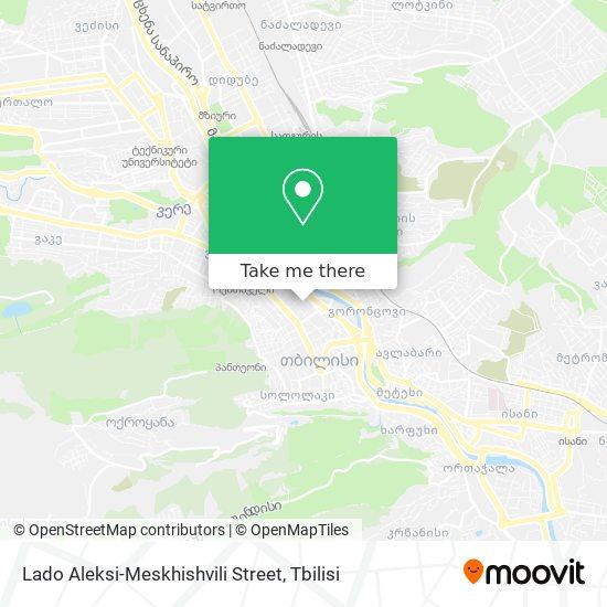 Lado Aleksi-Meskhishvili Street map