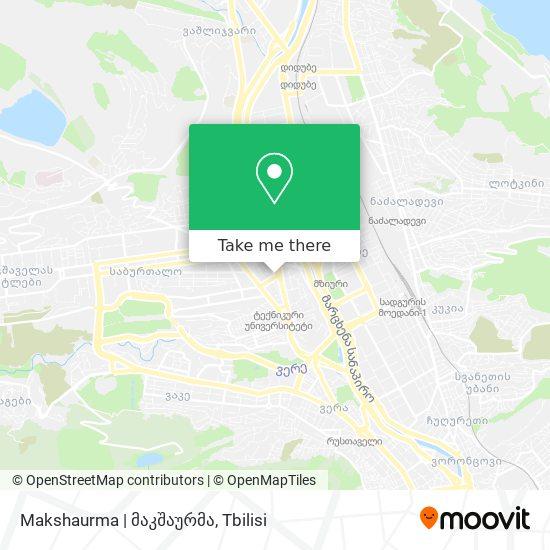 Makshaurma   მაკშაურმა map