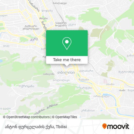 ანტონ ფურცელაძის ქუჩა map