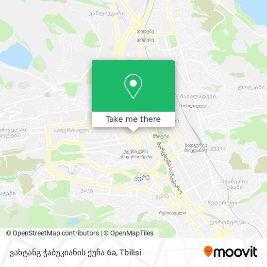 ვახტანგ ჭაბუკიანის ქუჩა 6a map