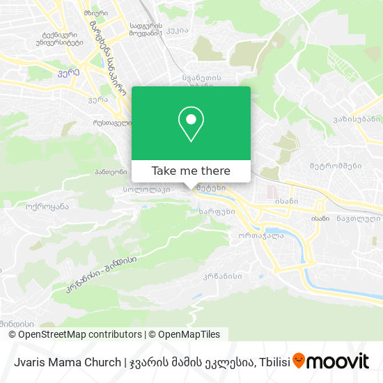 Jvaris Mama Church   ჯვარის მამის ეკლესია map