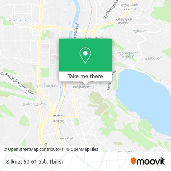 Silknet 60-61 ასს map