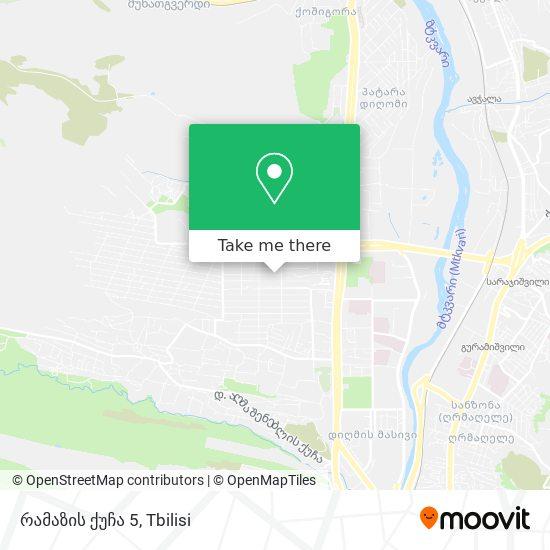 რამაზის ქუჩა 5 map