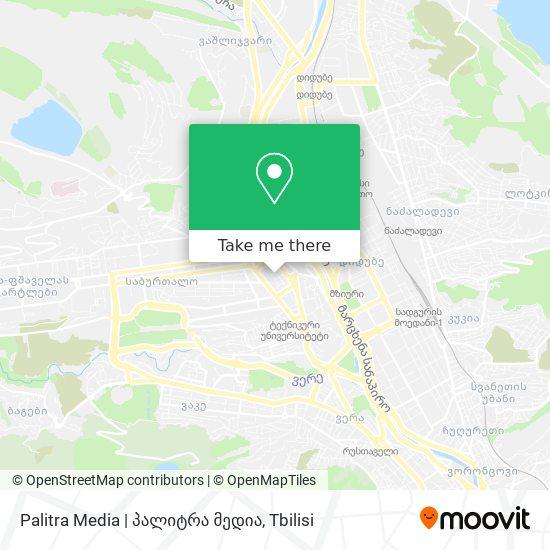 Palitra Media   პალიტრა მედია map