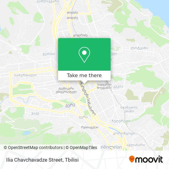 Ilia Chavchavadze Street map