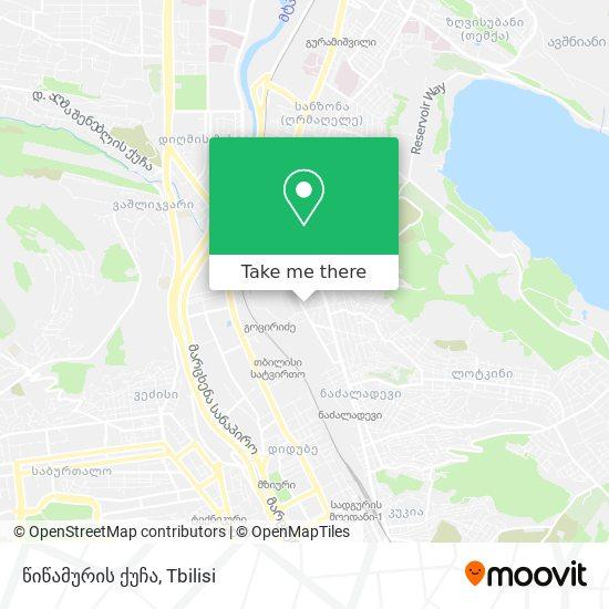 წიწამურის ქუჩა map