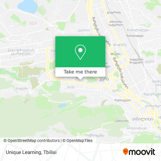 Unique Learning map