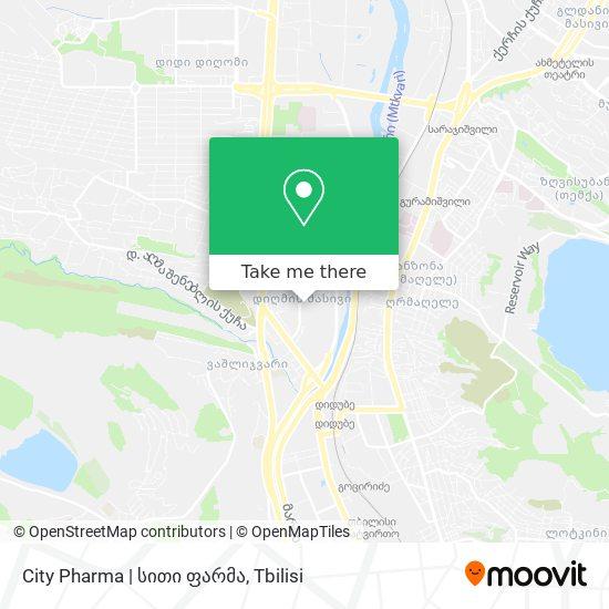 City Pharma | სითი ფარმა map