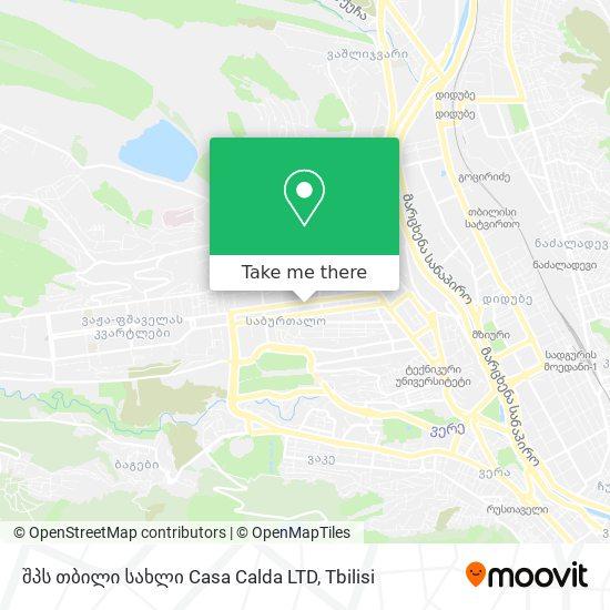 შპს თბილი სახლი   Casa Calda LTD map