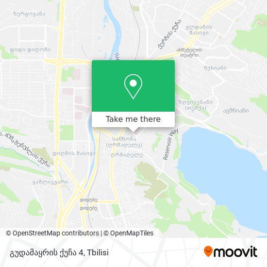 გუდამაყრის ქუჩა 4 map