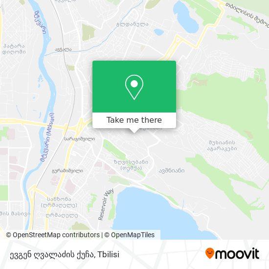 ევგენ ღვალაძის ქუჩა map