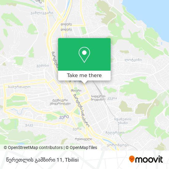 წერეთლის გამზირი 11 map