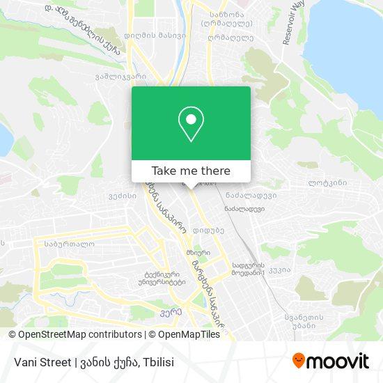 Vani Street | ვანის ქუჩა map
