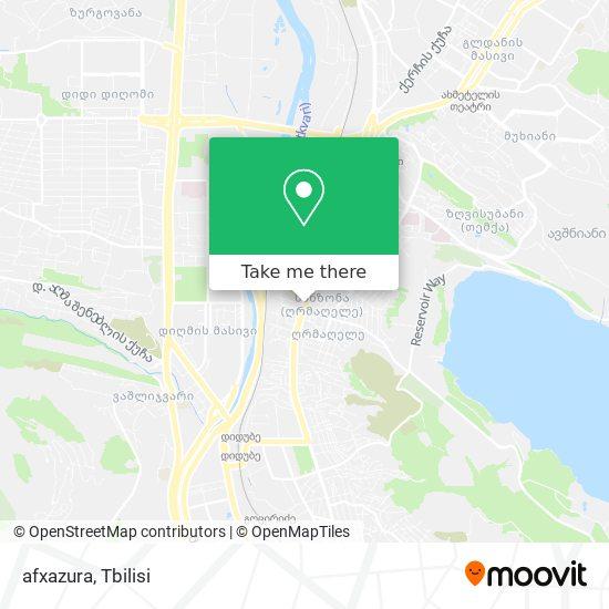 afxazura map