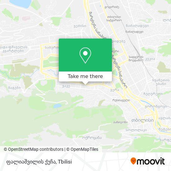 ფალიაშვილის ქუჩა map