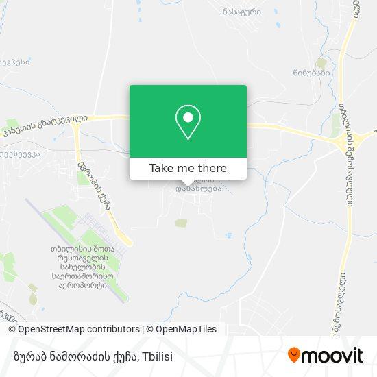 ზურაბ ნამორაძის ქუჩა map