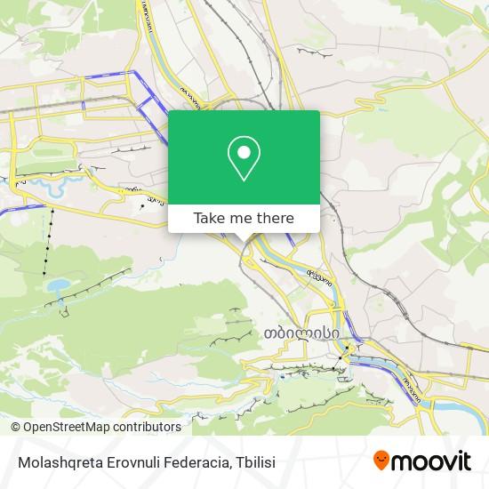 Molashqreta Erovnuli Federacia map