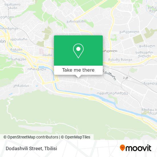 Dodashvili Street map