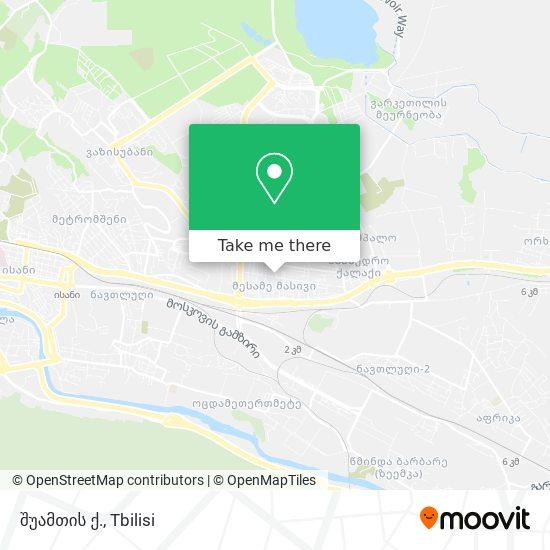 შუამთის ქ. map