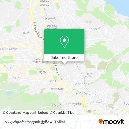 ია კარგარეთელის ქუჩა 4 map