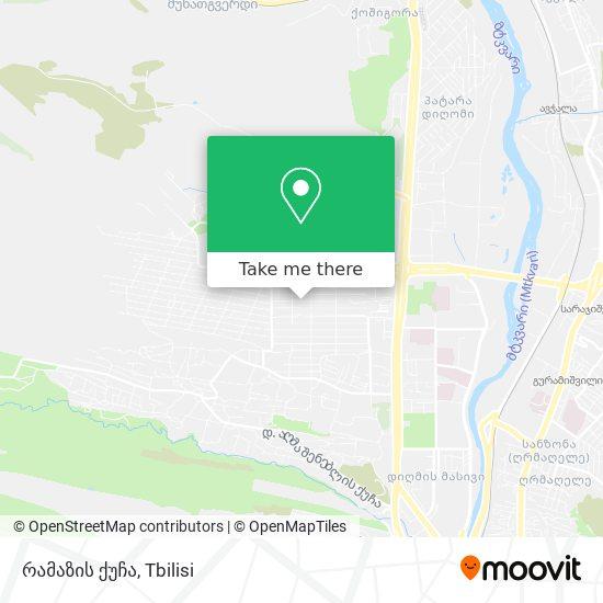 რამაზის ქუჩა map