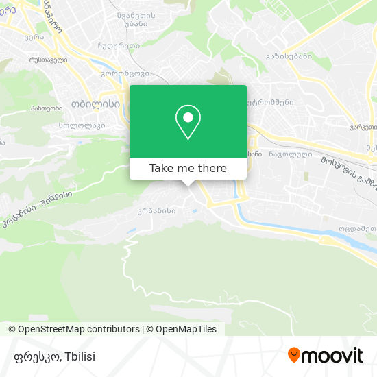 ფრესკო map