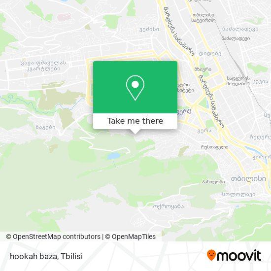 hookah baza map