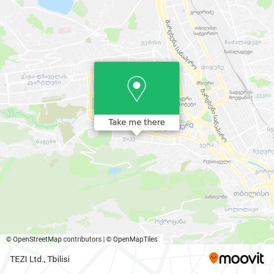 TEZI Ltd. map