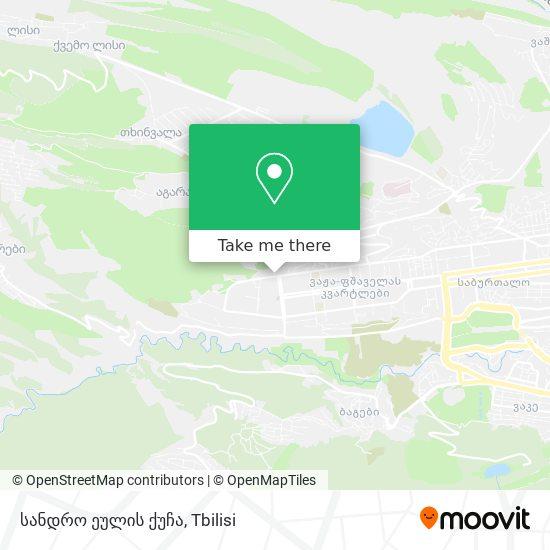 სანდრო ეულის ქუჩა map