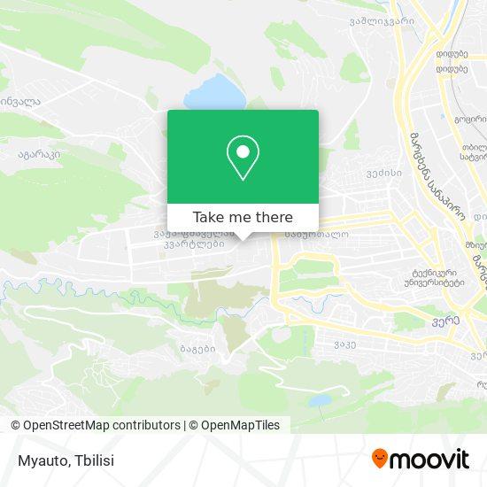 Myauto map
