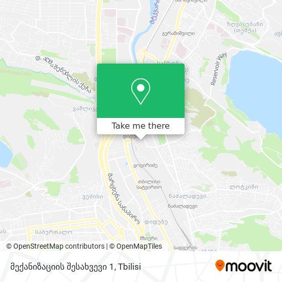 მექანიზაციის შესახვევი 1 map