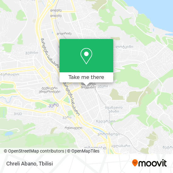 Chreli Abano map