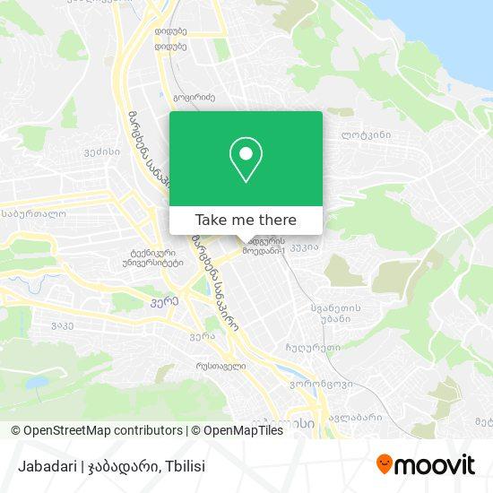 Jabadari | ჯაბადარი map