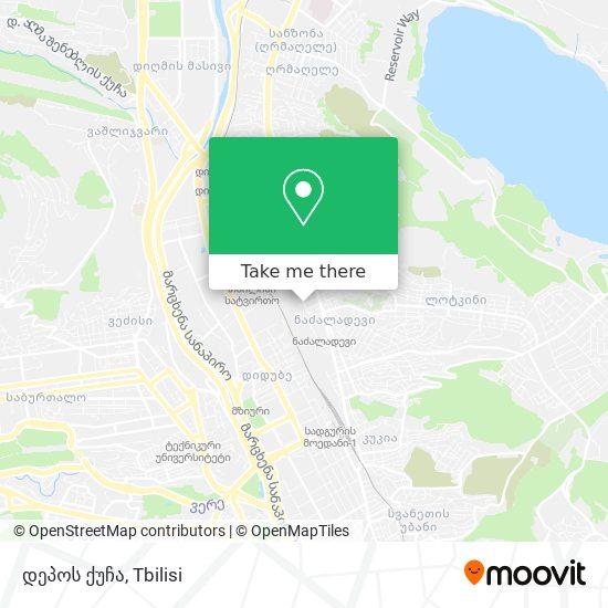დეპოს ქუჩა map