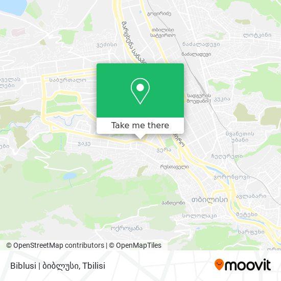 Biblusi | ბიბლუსი map