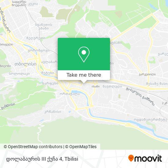 დოლაბაურის III ქუჩა 4 map