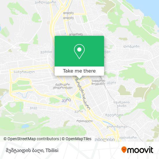 მუშტაიდის ბაღი map