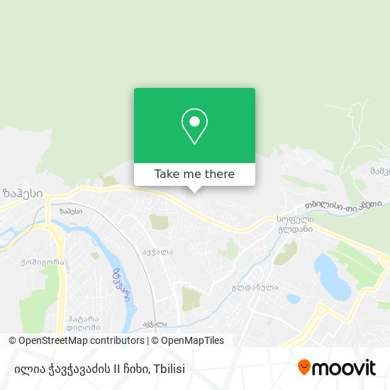 ილია ჭავჭავაძის II ჩიხი map